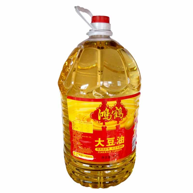 鸿鹤大豆油10l*2